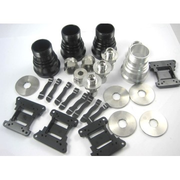 CNC machining aluminum alloy parts production services