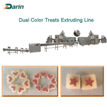 OEM/ODM for Pet Treats Extruding Line,Pet Food Making Machine,Dog Treats Extruding Line Manufacturer in China Twist Dog Treats Single Screw Extruding Processing Line export to Saint Kitts and Nevis Suppliers