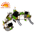Outdoor Playground Green Play Equipment