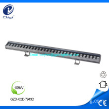 108W high power waterproof facade led wall washer