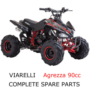 Viarelli ATV Agrezza90cc Part Complete Parts