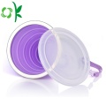Silicone Folding Drinking Cups Retractable Travel Cup