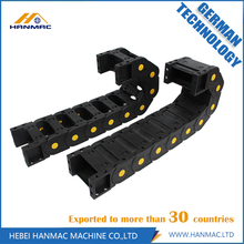 Good Quality for Closed Type Cable Drag Chain Transmission Plastic Reinforced Drag Chain CNC Machine Tools supply to Cuba Manufacturer