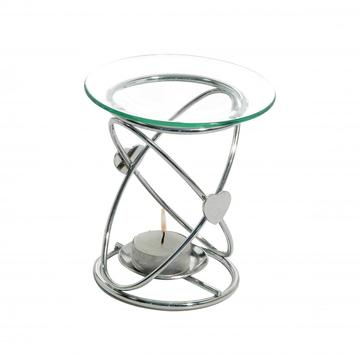 Metal and Glass Fragrant Oil Warmer