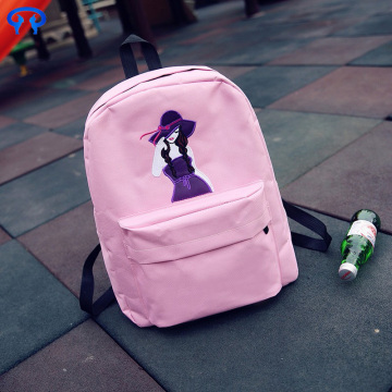 Cheap cute shoulder canvas backpack