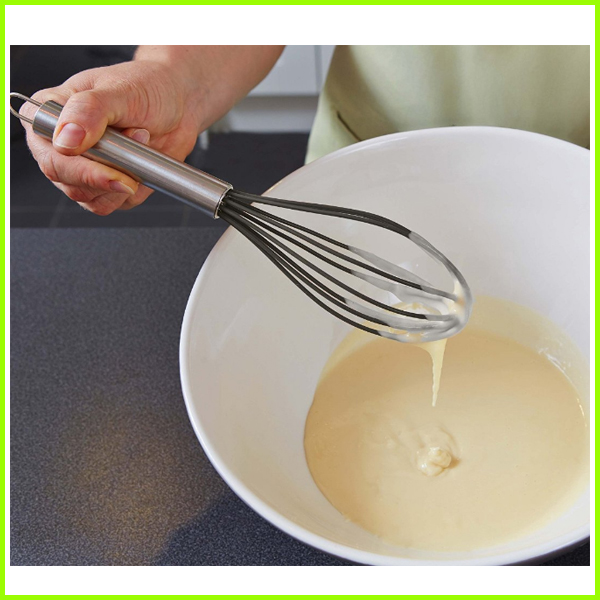 Non-stick Heat Resistant Silicone Egg Beater