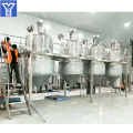 Automatic edible soybean oil refining machine
