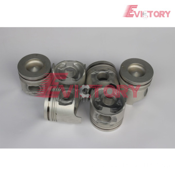 ISUZU engine parts piston 6HK1 piston ring