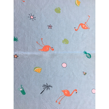 Child Interest Rayon Challis 30S Printing Woven Fabric