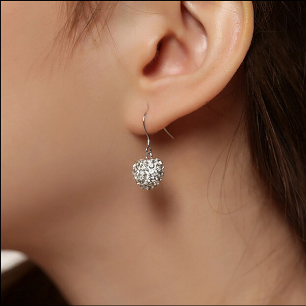 Silver Plated Hoop Earrings For Women