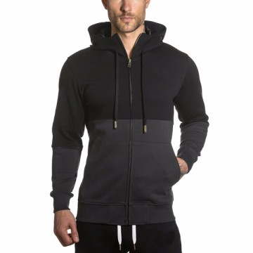 Mens fitness fleece sportswear hoodies for man