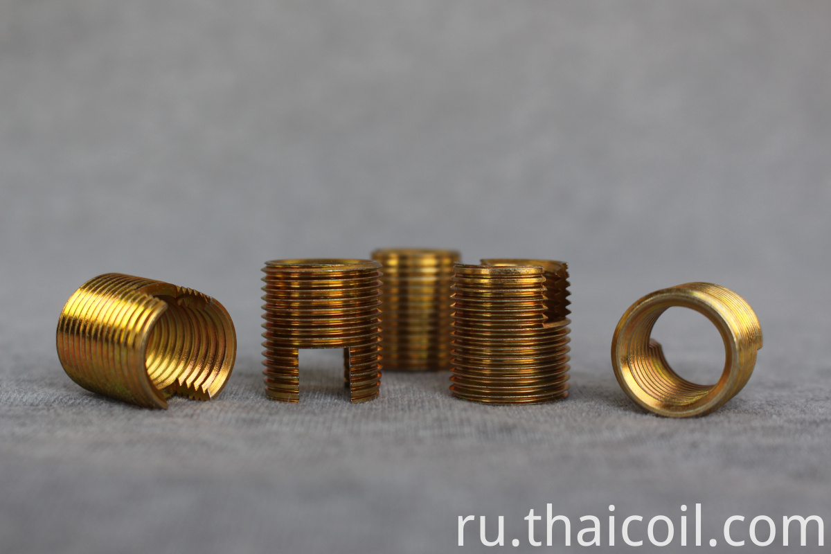 zinc plated steel threaded inserts