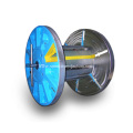 single central screw collapsible reels