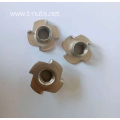 Fine grinding Four corners Full thread Tee Nuts