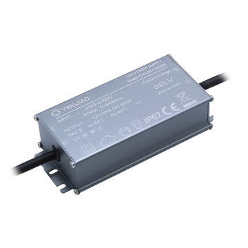 80W DC12V aluminum case IP67 waterproof power supply