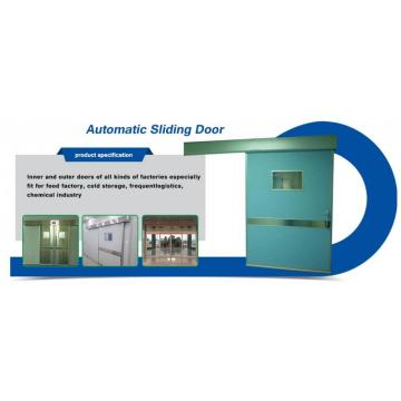 Automatic Airtight Hospital Operation Sliding Open Door