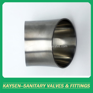 DIN Sanitary 45D Weld Elbow