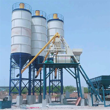 Bucket type  cement mixing batch plant specifications