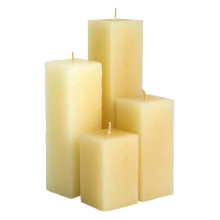 Hot selling attractive for Square Pillar Candle For Decoration religion pillar candle  square pillar candle export to Japan Suppliers