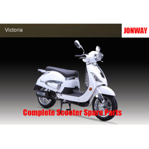 Jonway Victoria Complete Scooter Spare Parts Original Spare Parts