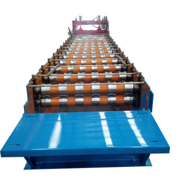 full automatic galvanized corrugated roofing steel machinery
