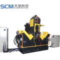 CNC angle drilling and marking machine