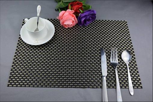 1series PVC eat mat decoration cushion