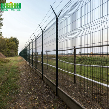 High Security  Airport Fence Razor Barbed Wires