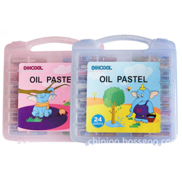 Factory supplied for Oil Pastel For Kids 48-Colors Oil Pastels Set supply to Qatar Factory