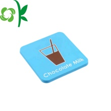 Silicone Square Decorative Coasters for Drink