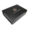 Custom Design Matte Black Gift Packaging