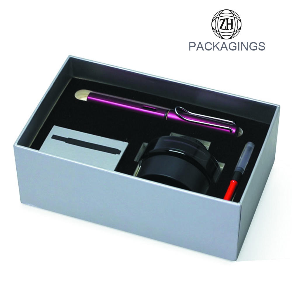 Rectangle Hat Boxes Pen Packaging Boxes