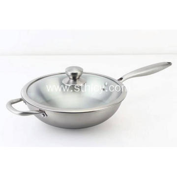 Professional Stainless Steel Pan for Cooking