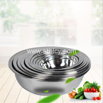 Non-magnetic anti-side stainless steel soup bowl thickening