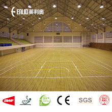 Low Cost for China Basketball Sports Flooring,PVC Sports Flooring,Basketball Court Flooring,Basketball Flooring Supplier Enlio indoor vinyl basketball flooring export to South Korea Manufacturer
