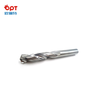 Threaded carbide tipped drills bit