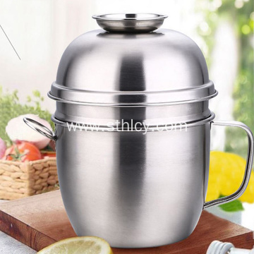Thickened Stainless Steel Lunch Box for Rice Bowl