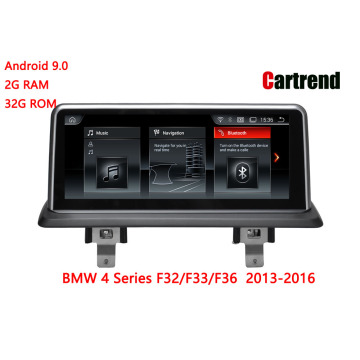 4 Series F32 / F33 / F36 Radio Dashboard