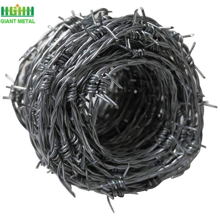 Double twisted barbed wire