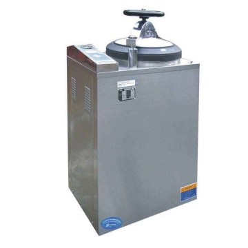 Digital display pulse vacuum 50L stainless steel autoclave