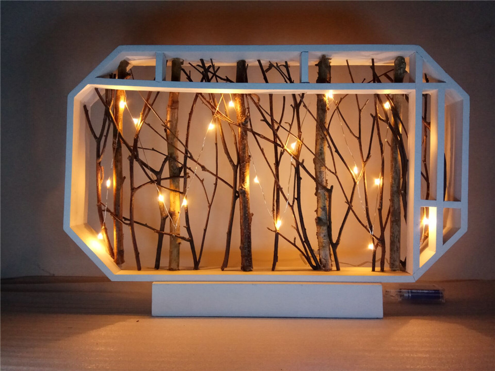 tree branch led light