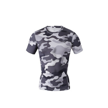 20 Years Factory for Sublimation T Shirt Custom Stretch Lycra Compression Shirts Mma supply to Mozambique Factories