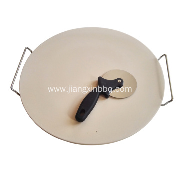 16 Inch Round Pizza Stone Set