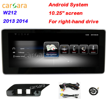 Best Quality for Mercedes-Benz Car Multimedia RHD W212 13-14 navigation update supply to Norfolk Island Supplier