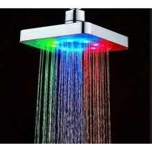Yuyao Bathroom Fitting Rainfall LED Shower Head