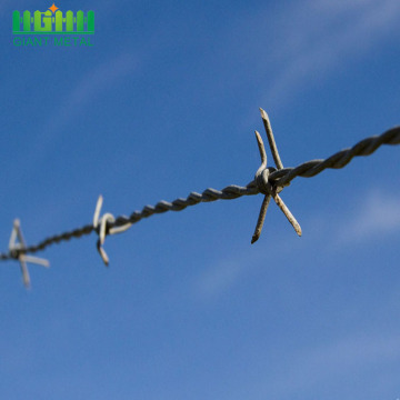 Low Price Galvanized High Quality Barbed Wire