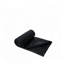 Black color waterproof PE tarpaulin