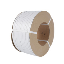 White color PP packaging plastic strap factory