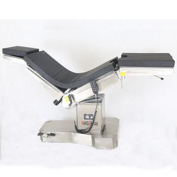 CE approved Radiolucent operating exam table