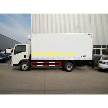 JAC 2tons Insulated Van Trucks